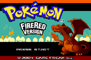Screenshot Thumbnail / Media File 1 for Pokemon Fire Red (U)(Squirrels)