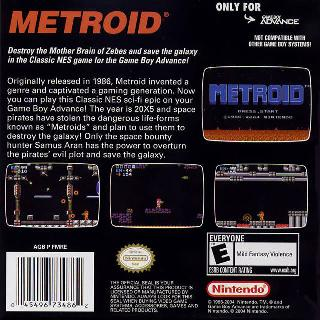 Screenshot Thumbnail / Media File 1 for Classic NES - Metroid (U)(BatMan)