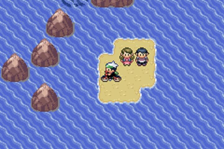 Screenshot thumbnail media file 4 for pokemon emerald u trashman