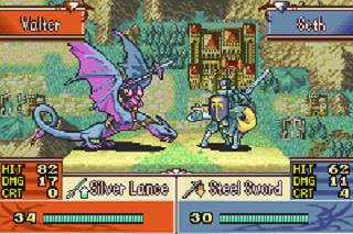 Screenshot Thumbnail / Media File 1 for Fire Emblem - The Sacred Stones (U)(TrashMan)