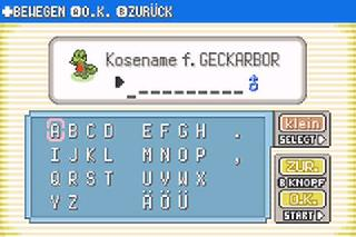 Screenshot Thumbnail / Media File 1 for Pokemon Smaragd Edition (G)(Rising Sun)