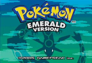 Screenshot Thumbnail / Media File 1 for Pokemon Edicion Esmeralda (S)(Independent)