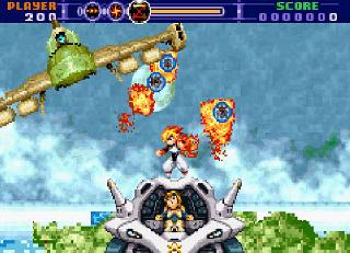 Screenshot Thumbnail / Media File 1 for Gunstar Super Heroes (U)(Trashman)