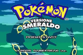 Screenshot Thumbnail / Media File 1 for Pokemon - Versione Smeraldo (I)(Pokemon Rapers)