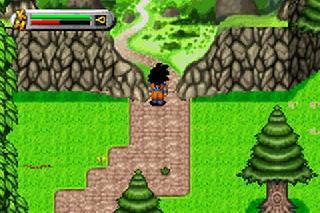Screenshot Thumbnail / Media File 1 for 2 in 1 - Dragon Ball Z - The Legacy of Goku I & II (U)(Rising Sun)