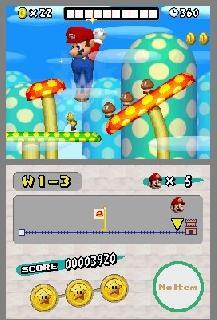 Screenshot Thumbnail / Media File 1 for New Super Mario Bros. (U)(Psyfer)