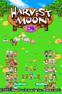 Screenshot Thumbnail / Media File 1 for Harvest Moon DS (U)(Legacy)