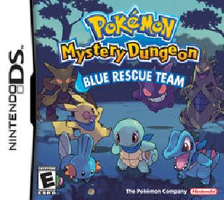 Screenshot Thumbnail / Media File 1 for Pokemon Mystery Dungeon - Blue Rescue Team (U)(Legacy)