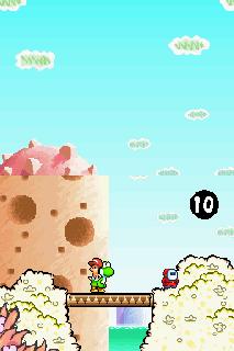 Screenshot Thumbnail / Media File 1 for Yoshi's Island DS (U)(EvlChiken)