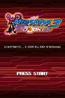 Screenshot Thumbnail / Media File 1 for Megaman Star Force 3 - Red Joker (US)(XenoPhobia)