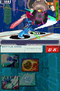 Screenshot Thumbnail / Media File 1 for Megaman Star Force 3 - Red Joker (US)(XenoPhobia)