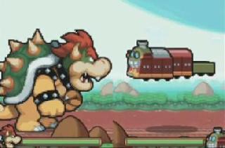 Screenshot Thumbnail / Media File 1 for Mario & Luigi - Bowser's Inside Story (US)(M3)(XenoPhobia)