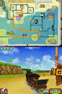 Screenshot Thumbnail / Media File 1 for Legend of Zelda - Spirit Tracks, The (US)(M3)(XenoPhobia)