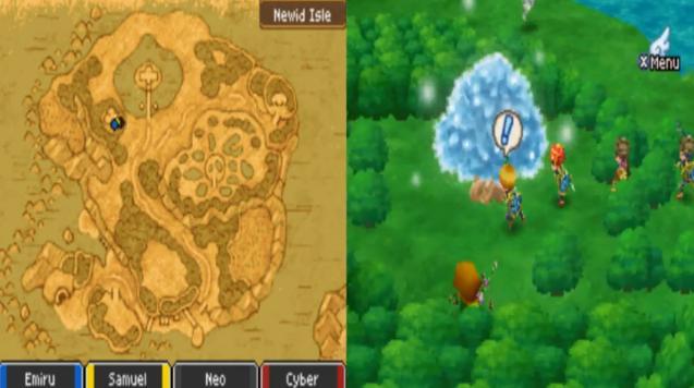 Dragon Quest Ix Sentinels Of The Starry Skies U Rom