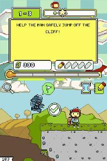 Screenshot Thumbnail / Media File 1 for Super Scribblenauts (USA) (256Mbit)