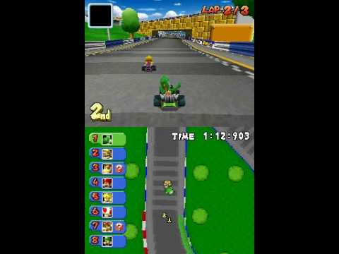 how to play mario kart ds