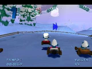 Screenshot Thumbnail / Media File 1 for 3, 2, 1, Smurf! My First Racing Game (E)