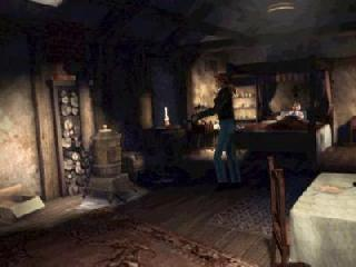 Screenshot Thumbnail / Media File 1 for Alone in the Dark - The New Nightmare (E) (Disc 2)