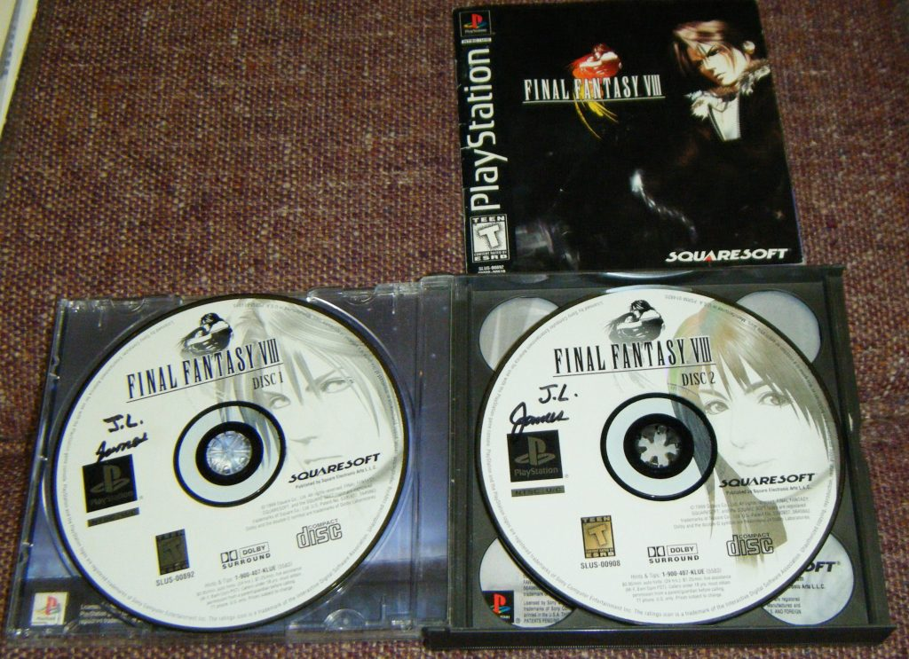 Final Fantasy Viii Rom Disc 2 2 For Final Fantasy Viii