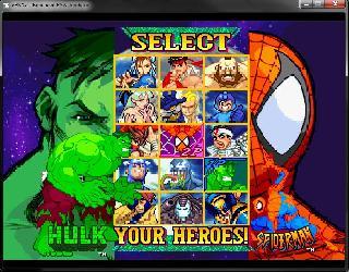 Screenshot Thumbnail / Media File 1 for Marvel vs. Capcom - Clash of Super Heroes (E)