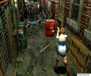 Screenshot Thumbnail / Media File 1 for Resident Evil 3 - Nemesis (G)