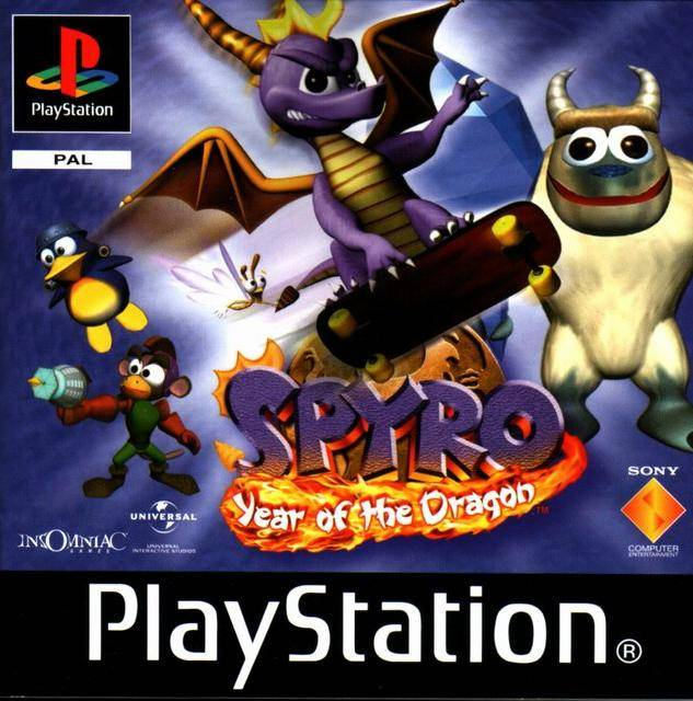 The third spyro the dragon game and the last to be developed by