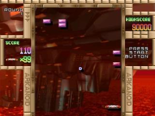 Screenshot Thumbnail / Media File 1 for Arkanoid Returns (J)