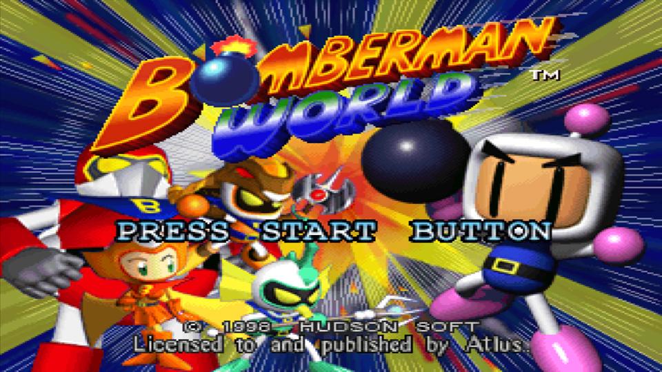 Bomberman World Game 3 For Bomberman World j