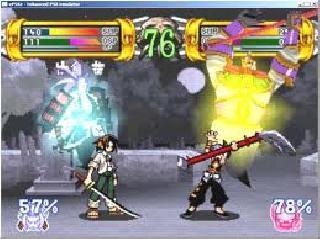 Screenshot Thumbnail / Media File 1 for Shaman King - Spirit of Shamans (J)