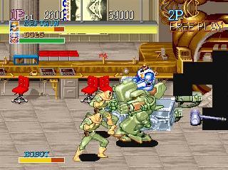 Screenshot Thumbnail / Media File 1 for Captain Commando (Japan)