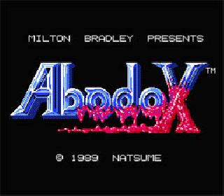 Screenshot Thumbnail / Media File 1 for Abadox (USA)