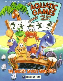 Screenshot Thumbnail / Media File 1 for Aquatic Games, The - Starring James Pond and the Aquabats