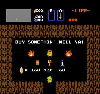 Screenshot Thumbnail / Media File 1 for Legend of Zelda, The (USA)