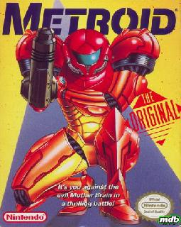Screenshot Thumbnail / Media File 1 for Metroid (USA)