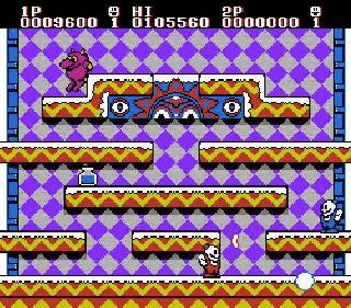 Screenshot Thumbnail / Media File 1 for Snow Brothers (USA)