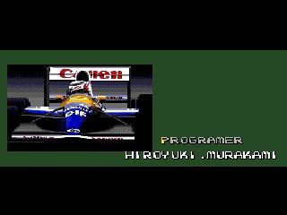 Screenshot Thumbnail / Media File 1 for F1 Circus '91 - World Championship (Japan)
