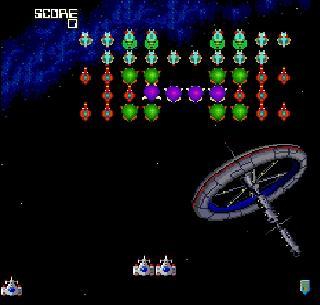 Screenshot Thumbnail / Media File 1 for Galaga '90 (USA)