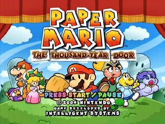 Opiniones de paper mario the thousand year door for 1000 year door