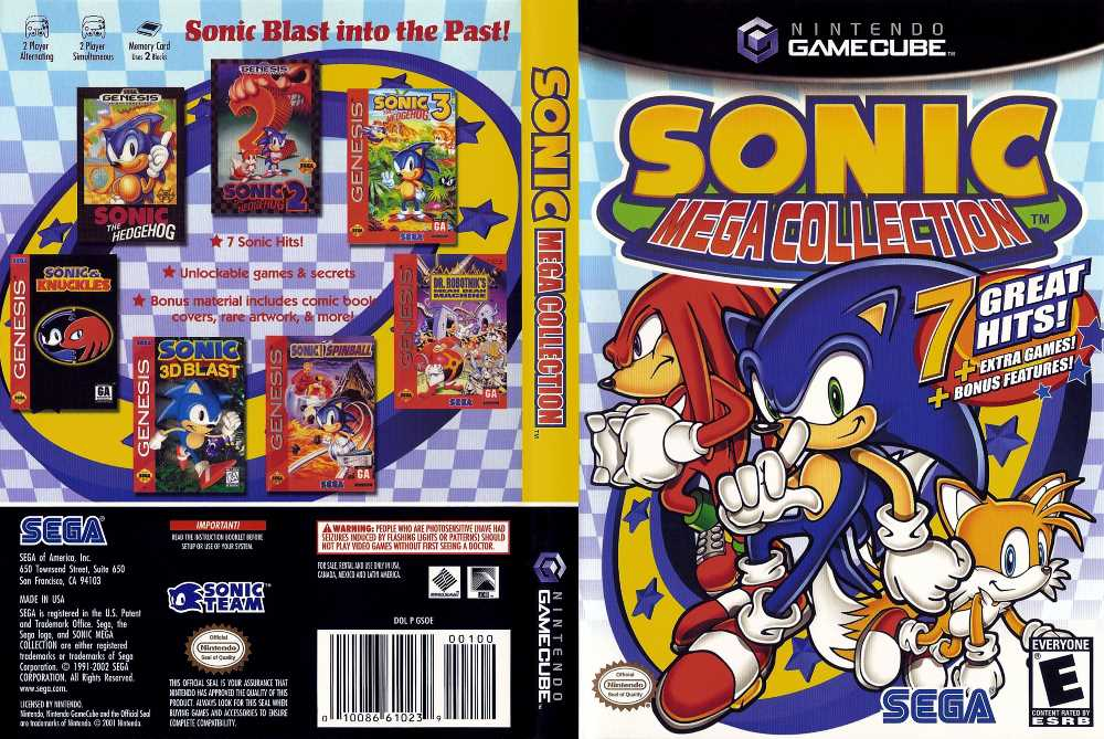 Sonic mega collection gc iso