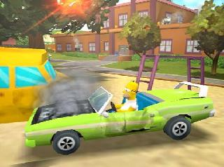 Screenshot Thumbnail / Media File 1 for The Simpsons Hit And Run