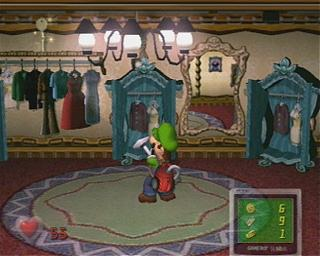 Screenshot Thumbnail / Media File 1 for Luigi's Mansion