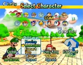 Screenshot Thumbnail / Media File 1 for Mario Power Tennis