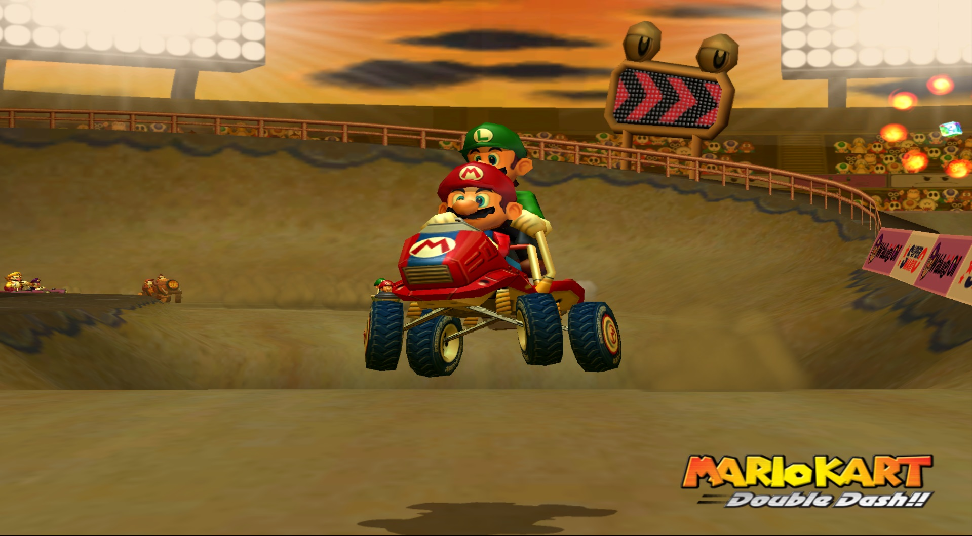 Mario Kart - Double Dash!! (Europe) (En,Fr,De,Es,It) ISO