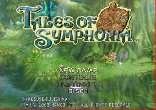 Screenshot Thumbnail / Media File 1 for Tales Of Symphonia (Disc 1)