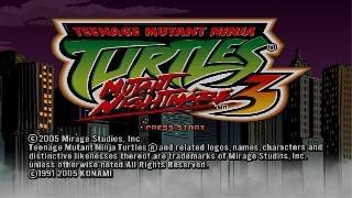 Screenshot Thumbnail / Media File 1 for Teenage Mutant Ninja Turtles 3 - Mutant Nightmare (Disc 1)