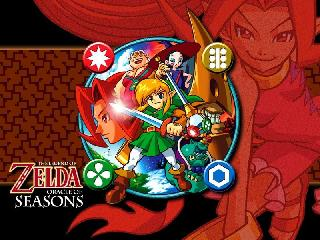 Screenshot Thumbnail / Media File 1 for Legend of Zelda, The - Oracle of Seasons (USA)