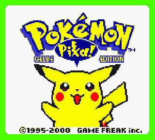 Screenshot Thumbnail / Media File 1 for Pokemon - Gelbe Edition (Germany)