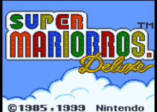 Screenshot Thumbnail / Media File 1 for Super Mario Bros. Deluxe (USA, Europe)