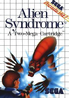 Screenshot Thumbnail / Media File 1 for Alien Syndrome (USA, Europe)