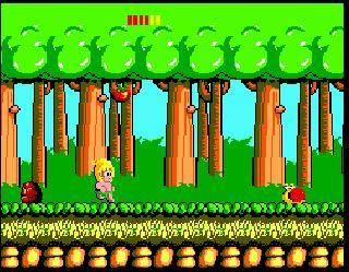 Screenshot Thumbnail / Media File 6 for Wonder Boy (USA, Europe)